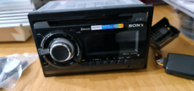 SONY WX GT90BT DOUBLE DIN STEREO