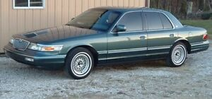 1995 Turquoise Grand Marquis (Will Take Offers)
