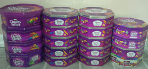 18 - Quality Street empty Tins  all for $25