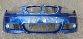 Bmw 1 Series E88 E82 E87 E81 Blue M Sport Bumper Breaking Parts