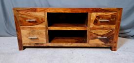 Jali Sheesham solid wood TV stand