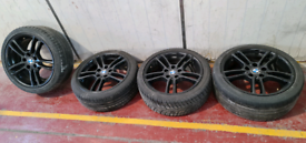 Bmw 1 series e88 e82 e81 e87 alloy wheels tyres breaking parts