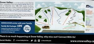Snow Valley Family (5 Person) Lift Ticket