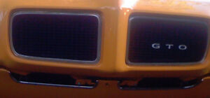 1970 Pontiac GTO Valance Panel Chrome Molding