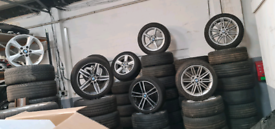 Bmw 1 series alloy wheels tyres parts breaking
