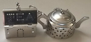 Cute Small house and a Teapot tea infuser stainless steel tea