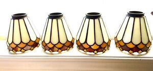 VINTAGE STAINED GLASS SHADES
