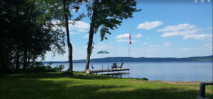 Private Waterfront Family Cottage for Rent on Golden Lake