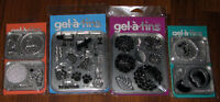 Scrapbooking Rubber Stamps - Gel-a-tins Set NEW Card Making