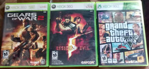 XBOX 360 video games - 3 for $15
