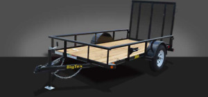 2016 BIG TEX SA35 LANDSCAPING TRAILER