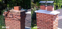 Chimneys to foundations all brick repairs 30 year bricklayer