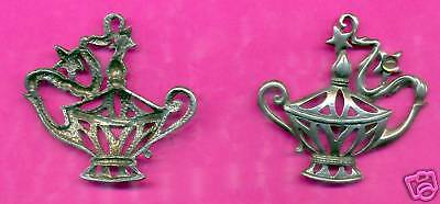 12 wholesale lead free pewter genie lamp pendants 7020