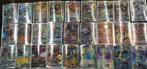 Lot of Mint Pokemon cards (EX, GX, and Full Arts!)