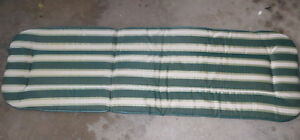 2 patio chair seat cushions, other patio cushions, lounge chair Kitchener / Waterloo Kitchener Area image 3