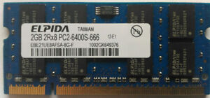 2GB DDR2 800MHz PC2-6400 and 2GB DDR2 667MHz (200 PIN) SODIMM