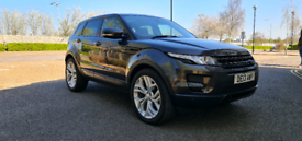2013 RANGE ROVER EVOQUE 2.2 SD4 AUTOMATIC (TECH PACK) SUNROOF.