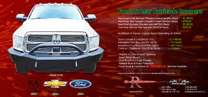 Rival Truck Barricade Front and Rear Bumpers