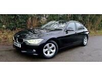 2012 BMW 320d 2.0TD EFFICIENT DYNAMICS TURBO DIESEL BLACK 4DR MANUAL NAVIGATION