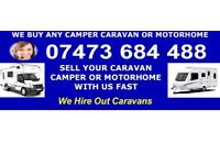 🎗CARAVAN OR MOTORHOMES BOUGHT DAMP VANS BOUGHT