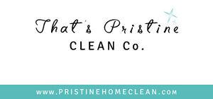 That's Pristine Clean Co.