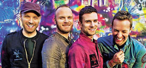 COLDPLAY in Montreal PRIVATE LOGE Wed August 9th 2017(10 Tickets