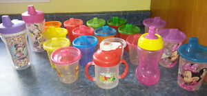 Variety of Sippy Cups