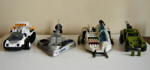 Vintage G.I. Joe Vehicles - Hasbro -Excellent Condition - 1980's