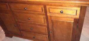 Baby dresser solid wood