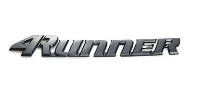 1x NEW Toyota 4Runner Tailgate Logo Emblem Decal Decorative Ornament Black](Tailgating Decorations)