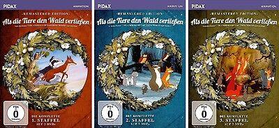 6 DVDs * ALS DIE TIERE DEN WALD VERLIESSEN (REM) - STAFFEL 1-3 IM SET # NEU OVP