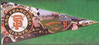 Jigsaw Puzzle Mlb San Francisco Giants In The Shape Of A Pennant 300 Piece New