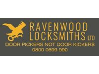 Ravenwood Locksmiths Ltd Police & Insurance Approved.