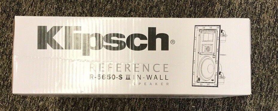 Klipsch R-5650-S II In-Wall Speaker - White