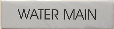 Water Main Sign White-ref-am