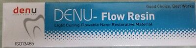 Denu Flow Resin Dental Flowable Composite A2 Double Pack