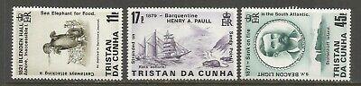 Tristan Da Cunha 1987 #412-5 Shipwrecks Set MNH