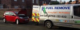 Mobile Wrong Fuel Draing Business