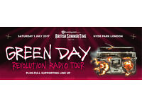 2x Greenday tickets