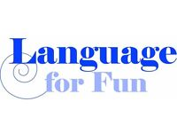 Fun French, Spanish and Italian Classes for adults. No homework - no tests - no stress!