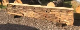 Scottish hardwood timber for sale slabs boards live waney edge diy desk table