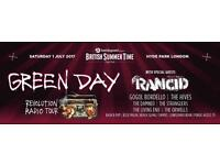 Green Day and guests