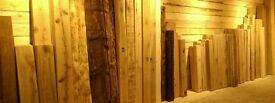 solid oak air dried beams for stove mantles etc