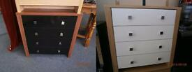 NEW Chest of 4 Drawers £49 Each.