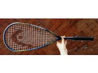 BRAND-NEW HEAD IX 120 SQUASH RACKET