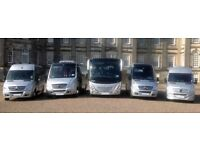 **BARGAIN PRICES** Minibus with driver & Coach Transfers *NATIONWIDE*