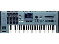Yamaha Motif XS6 inc. 1Gb sample RAM