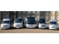 Minibus & Coach Hire with driver |**BARGAIN & CHEAP PRICES**| Loughborough & NATIONWIDE