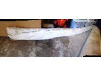 Kitchen 3m Plinth Gloss White wrapped/brand new