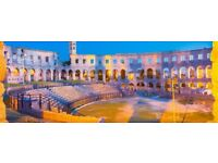 Return flight Edinburgh - Pula (Croatia): July 28 to August 4
